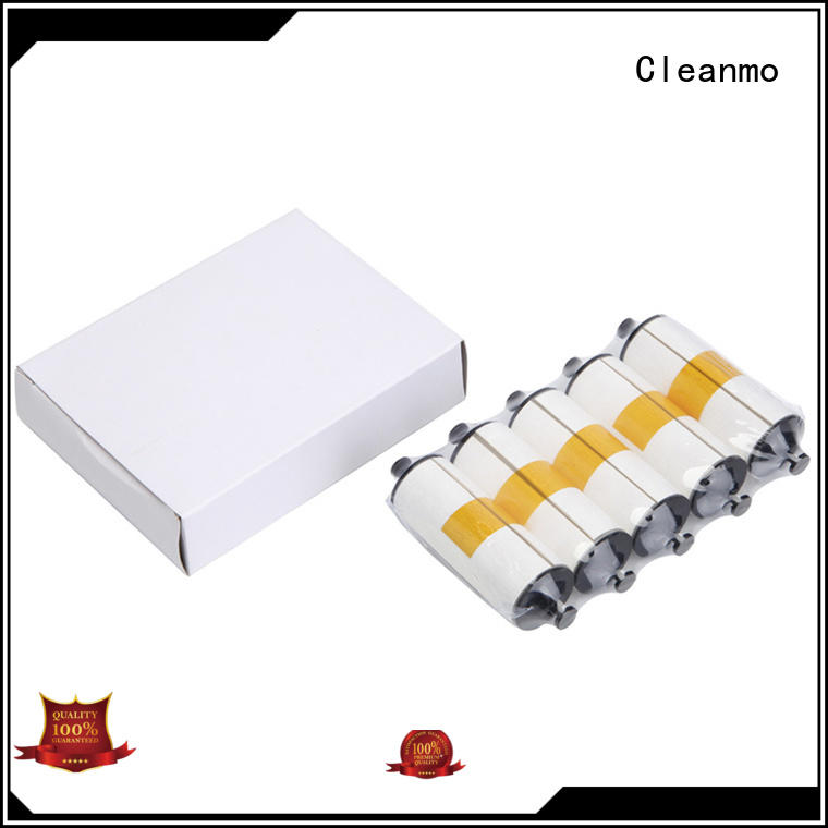Cleanmo durable zebra cleaners supplier for ID card printers