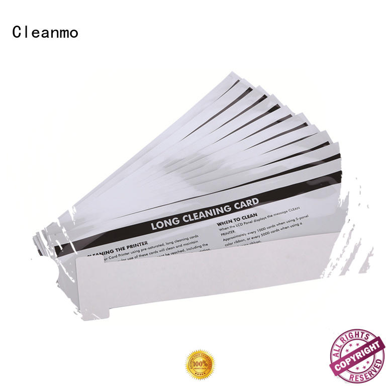 Cleanmo Electronic-grade IPA Snap Swab clean printer head wholesale for ID card printers