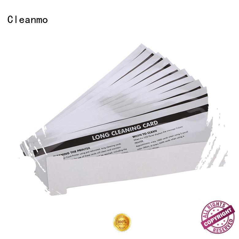 Cleanmo Electronic-grade IPA Snap Swab clean printer head wholesale for ID card printers