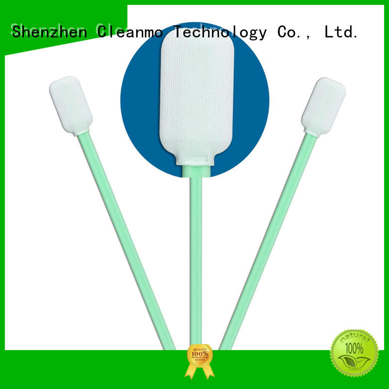 Cleanmo cost-effective optical cotton swab manufacturer for excess materials cleaning