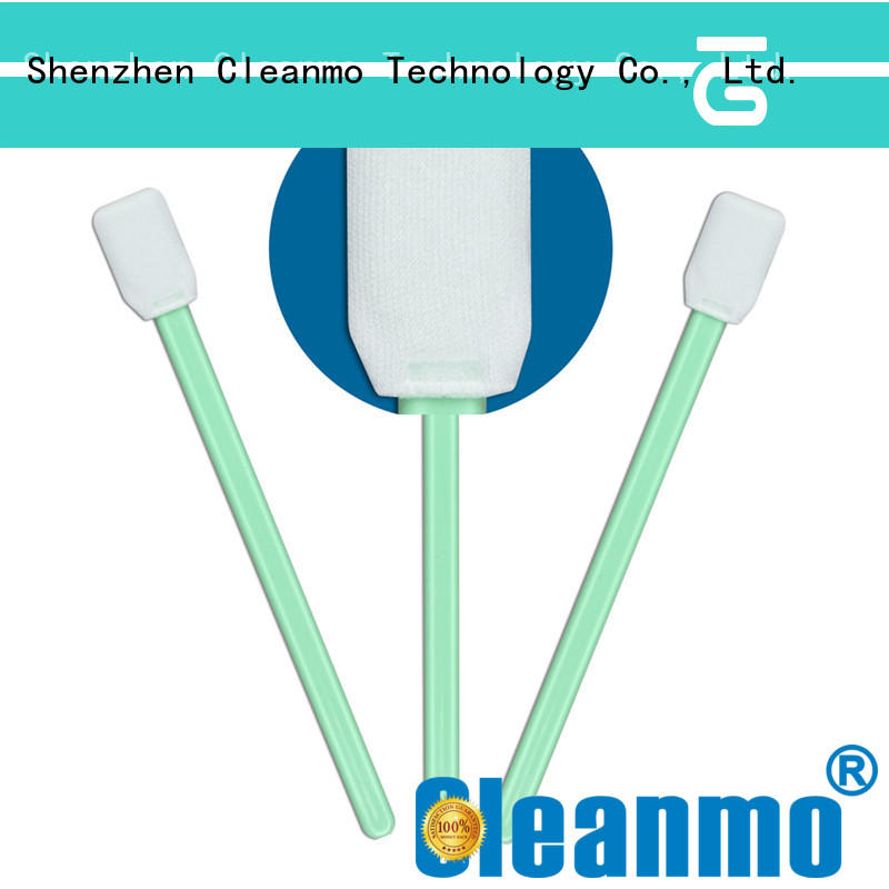 Cleanmo EDI water wash clean tips swabs wholesale for Micro-mechanical cleaning