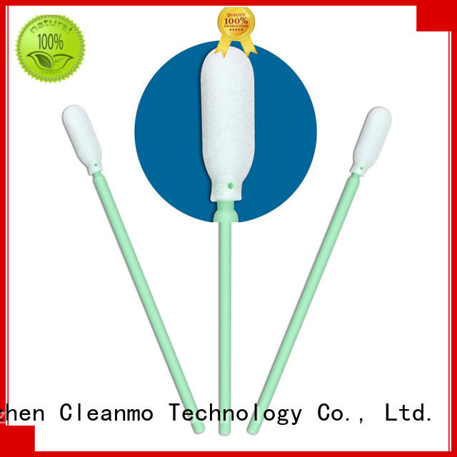 high quality micro swabs green handlesupplierfor excess materials cleaning