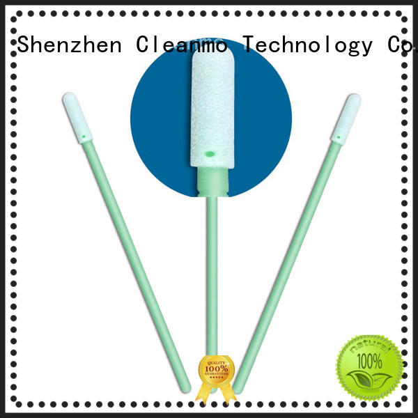 Cleanmo precision tip head cleaning swab manufacturer for general purpose cleaning
