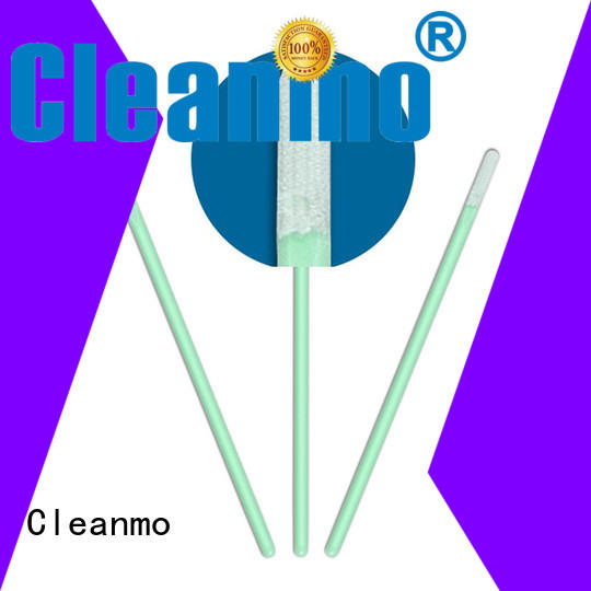 cleanroom cmps761m Cleanmo Brand optic cleaning swabs factory
