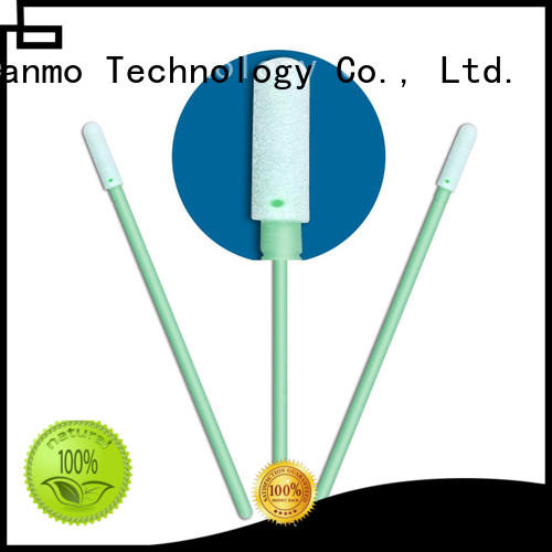 Cleanmo Polyurethane Foam ear swab wholesale for excess materials cleaning