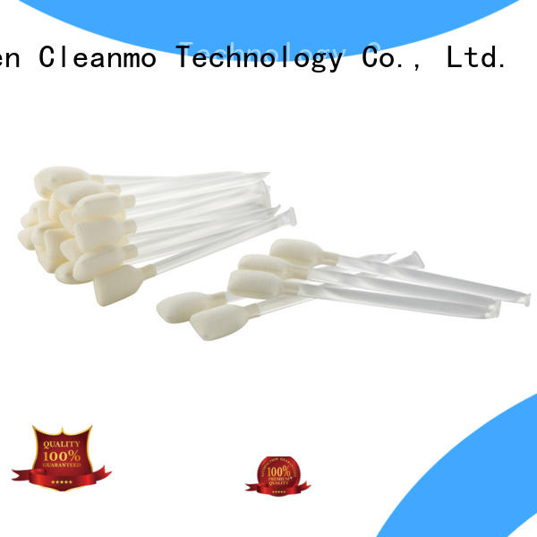 Cleanmo easy handling printer swabs supplier for Card Readers