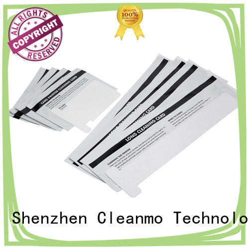Cleanmo T shape zebra cleaners wholesale for Zebra P120i printer