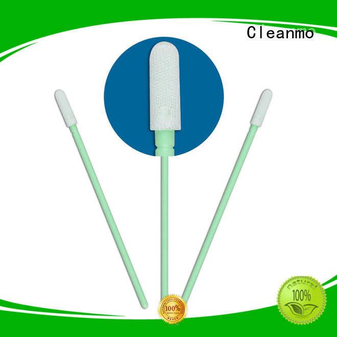 Cleanmo double layers of microfiber fabric Disposable Microfiber Swabs supplier for general purpose cleaning