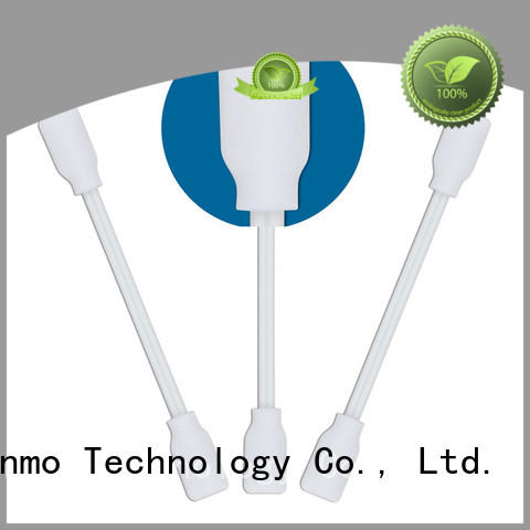 Cleanmo precision tip head puritan swabs factory price for general purpose cleaning