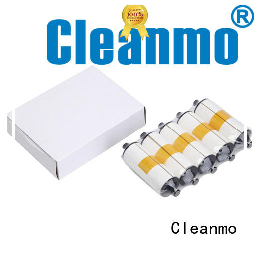 Cleanmo pvc zebra cleaners factory for ID card printers