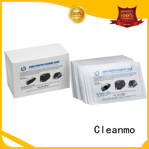 Cleanmo T shape zebra cleaners factory for ID card printers