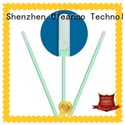 Cleanmo excellent chemical resistance cleaning validation swabs supplier for excess materials cleaning