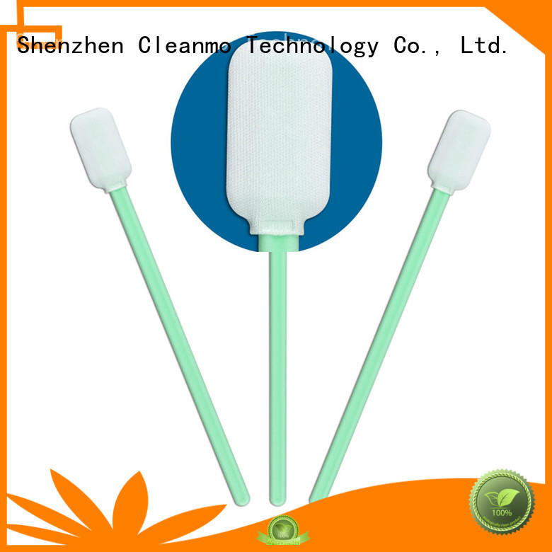 swab swabs Cleanmo Brand optic cleaning swabs