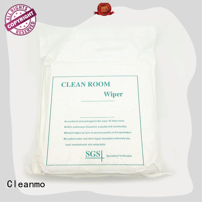 Cleanmo good quality microfiber lens wipes manufacturer for stainless steel surface cleaning