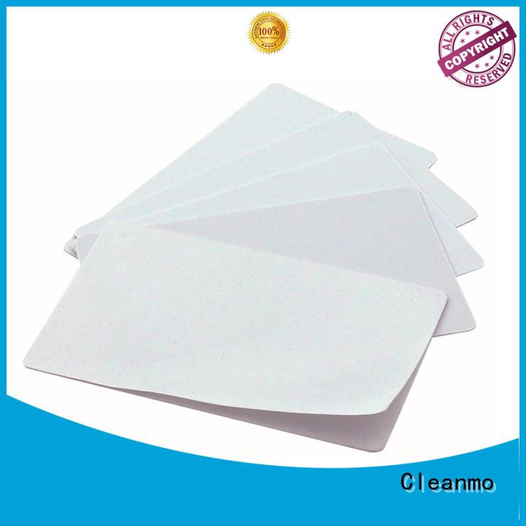 Cleanmo Electronic-grade IPA Snap Swab clean printer head manufacturer for Evolis printer