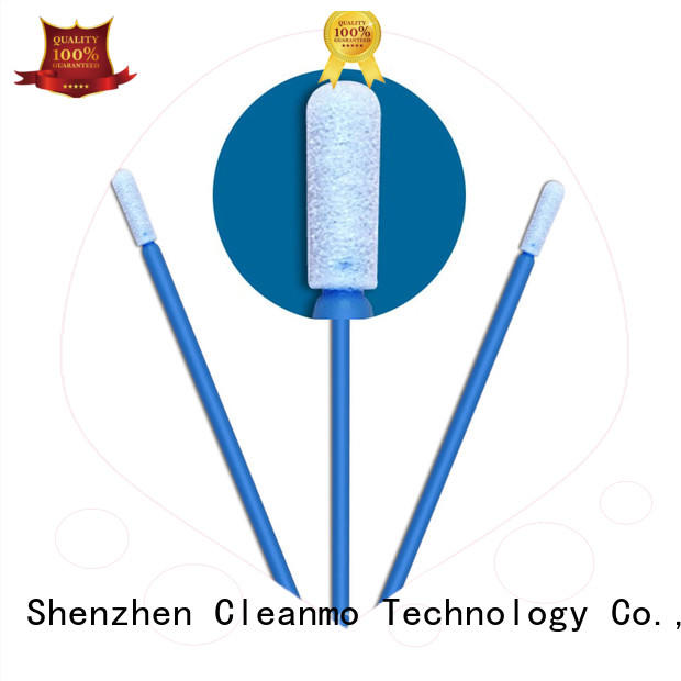 Cleanmo affordable sponge swabs wholesale for general purpose cleaning