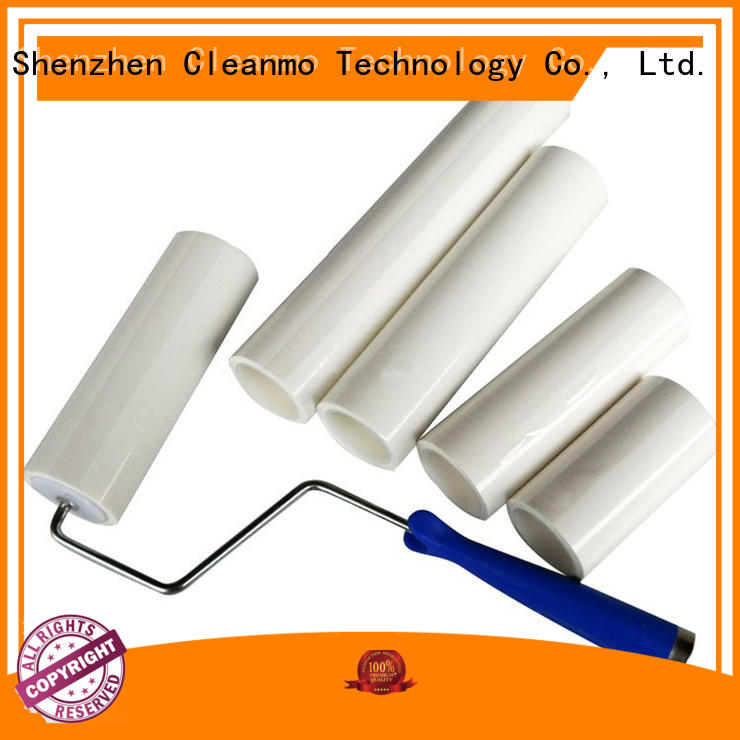 Cleanmo good quality adhesive roller clear protective film for cleaning