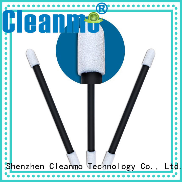 Cleanmo cost-effective up & up cotton swabs manufacturer for excess materials cleaning