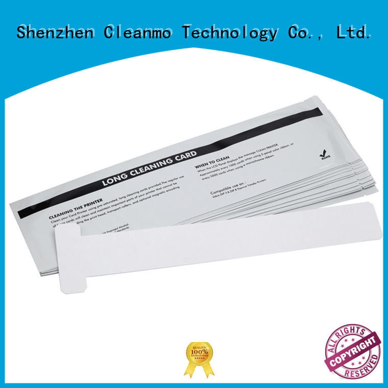 Cleanmo durable zebra printhead cleaning manufacturer for cleaning dirt