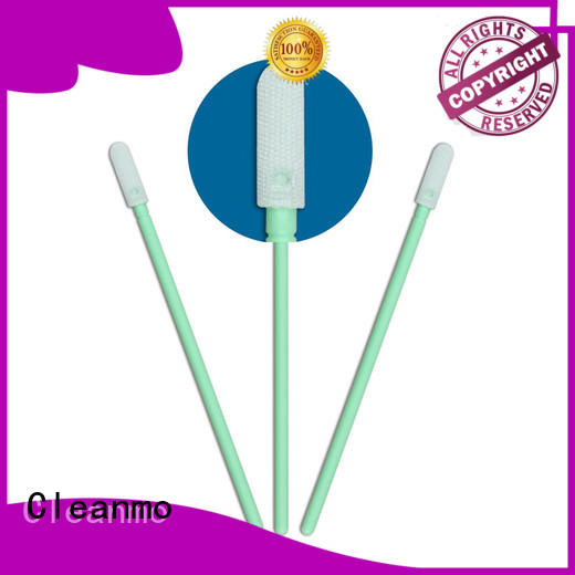 Cleanmo excellent chemical resistance swab applicator manufacturer for excess materials cleaning