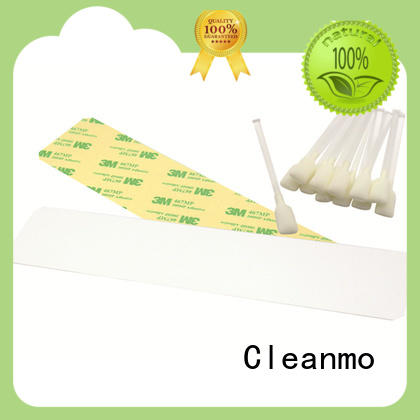 Cleanmo durable zebra printhead cleaning supplier for Zebra P120i printer