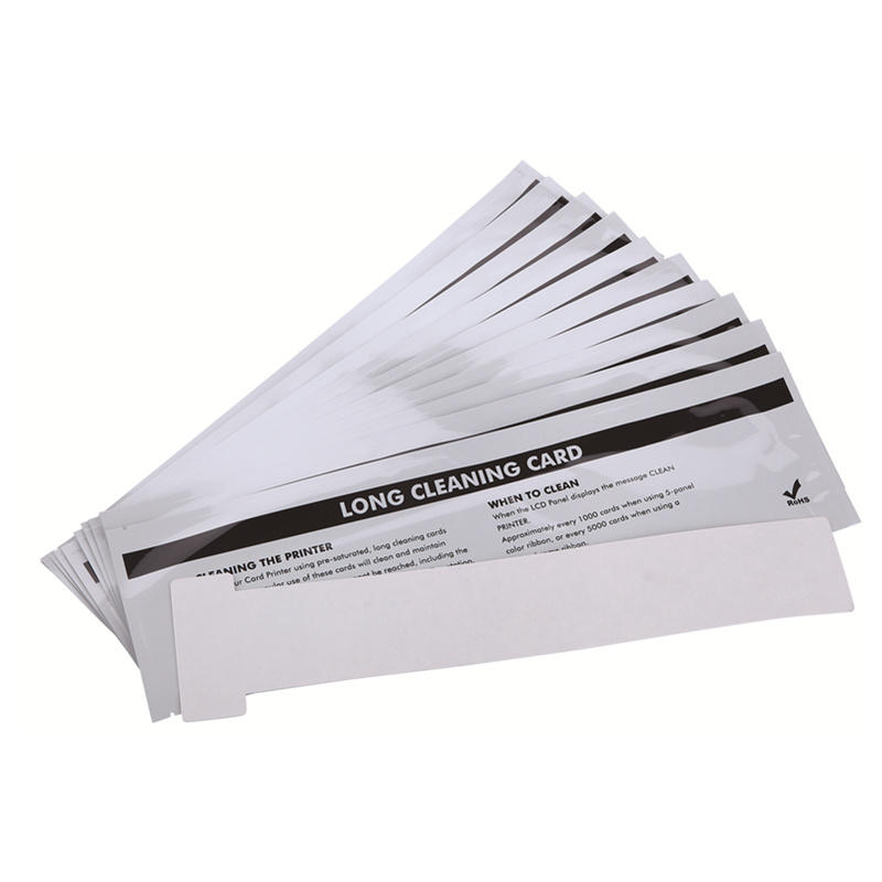 Cleanmo Aluminum Foil printer cleaning supplies wholesale for ID card printers-1