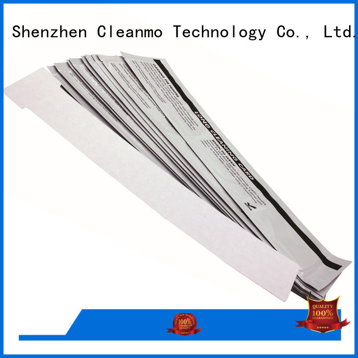 Cleanmo good quality IDP Smart cleaning cards factory for IDP SMART 30