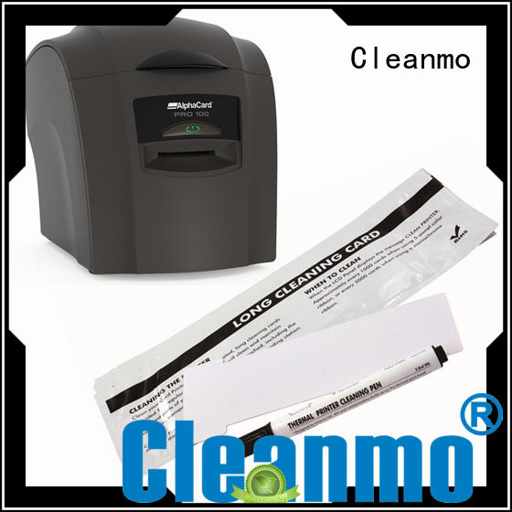 Cleanmo good quality AlphaCard Printer Cleaning Kits factory for AlphaCard PRO 100 Printer