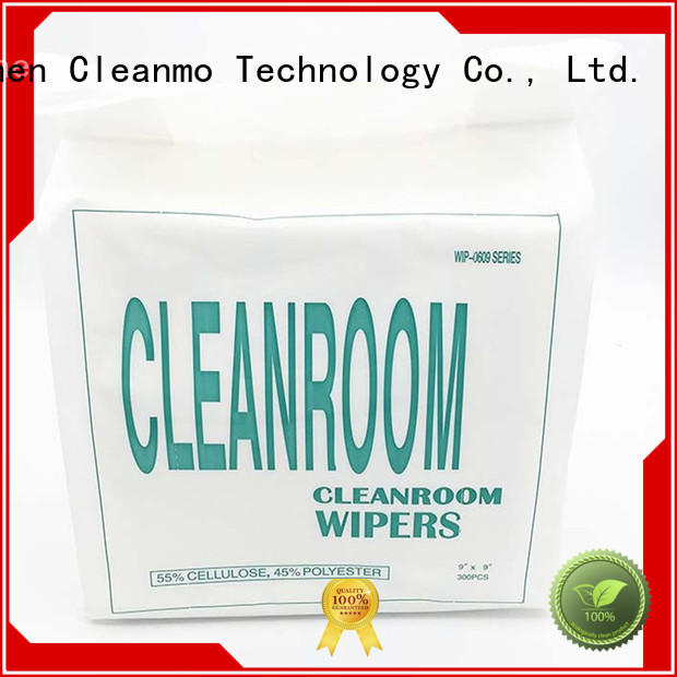 Cleanmo smooth non woven wipes factory price for equipements