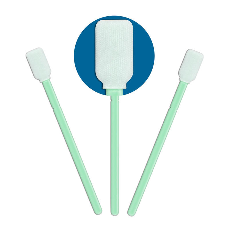 compatible Cleanroom polyester swab flexible paddle supplier for microscopes-1