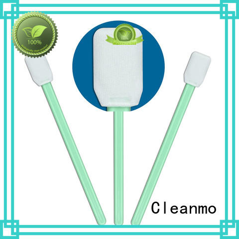 Cleanmo EDI water wash Disposable Microfiber Swabs factory price for general purpose cleaning