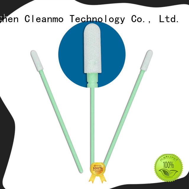 cost-effective Disposable Microfiber Swabs EDI water wash wholesale for Micro-mechanical cleaning