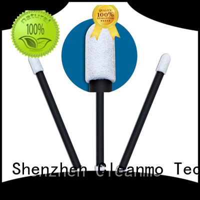Cleanmo thermal bouded cotton swab holder wholesale for excess materials cleaning