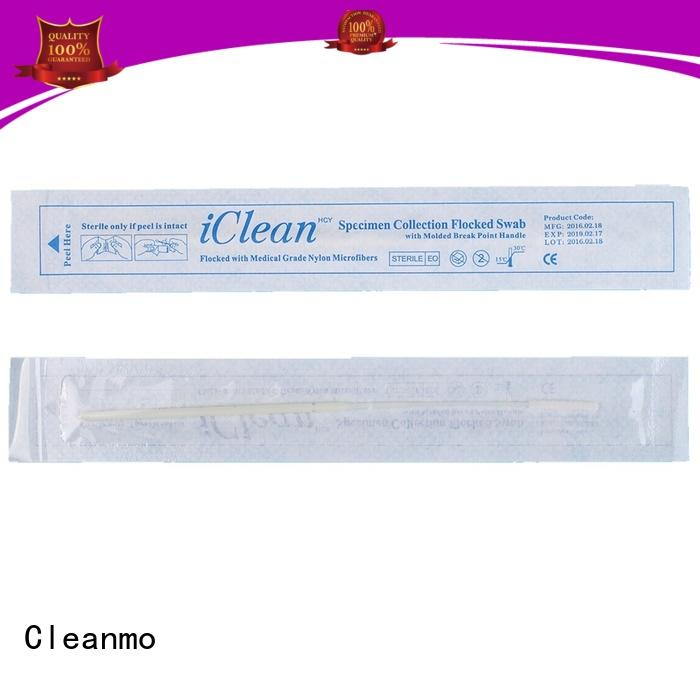 Cleanmo high recovery sampling swabs wholesale for rapid antigen testing