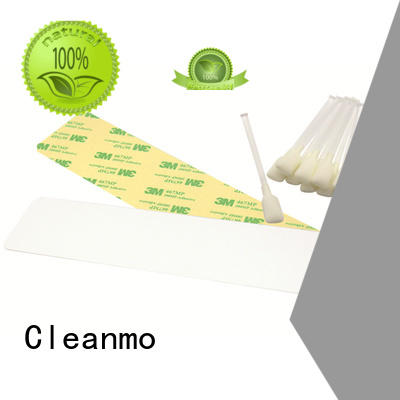 Cleanmo disposable zebra printer cleaning manufacturer for ID card printers