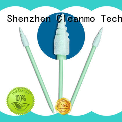 Cleanmo high quality oral swabs factory price for excess materials cleaning