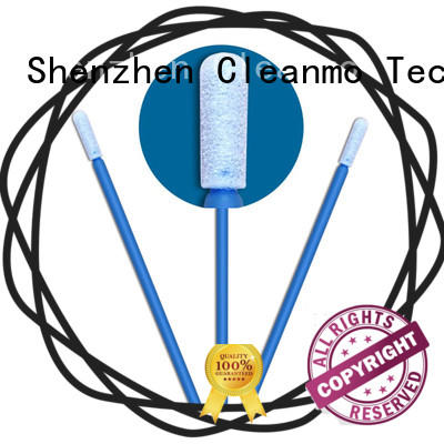 ESD-safe cleanroom swabs small ropund head supplier for general purpose cleaning