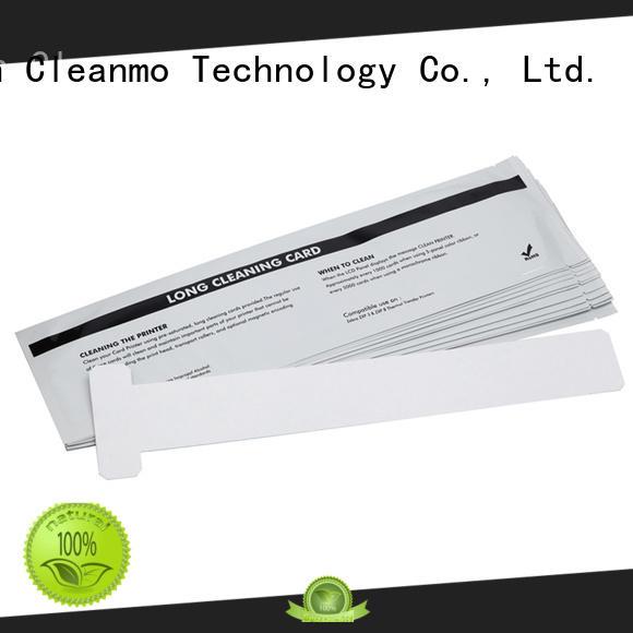 disposable zebra cleaners T shape supplier for Zebra P120i printer