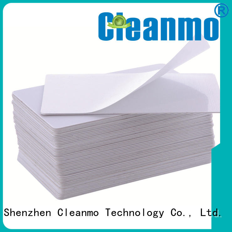 Cleanmo high quality printer cleaning supplies factory price for ID card printers