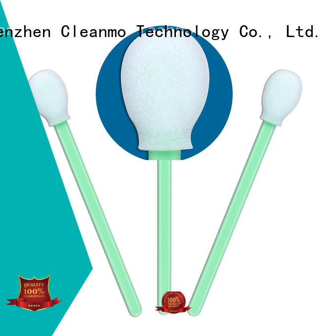 high quality long q tips small ropund head manufacturer for excess materials cleaning