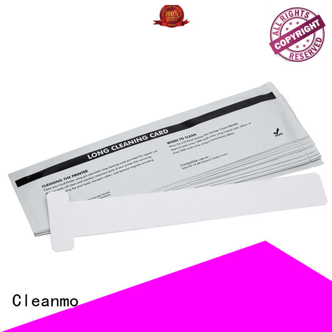 Cleanmo Aluminum foil packing zebra printer cleaning wholesale for cleaning dirt