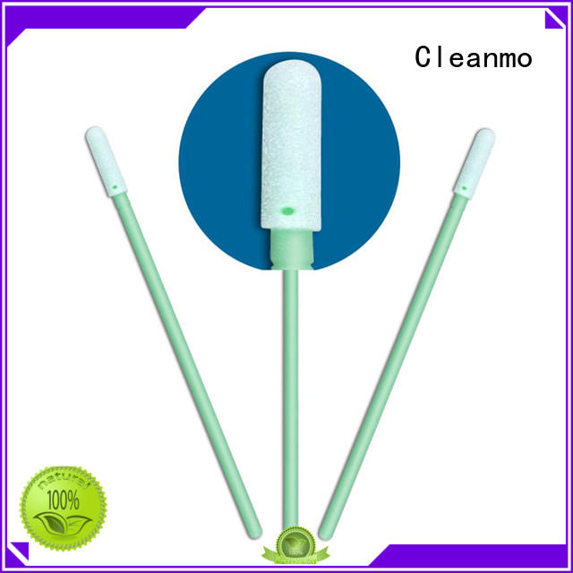 Cleanmo precision tip head large swabs manufacturer for Micro-mechanical cleaning