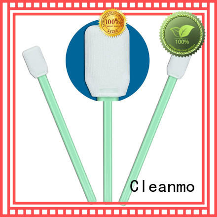 Cleanmo ESD-safe Disposable Microfiber Swabs wholesale for Micro-mechanical cleaning