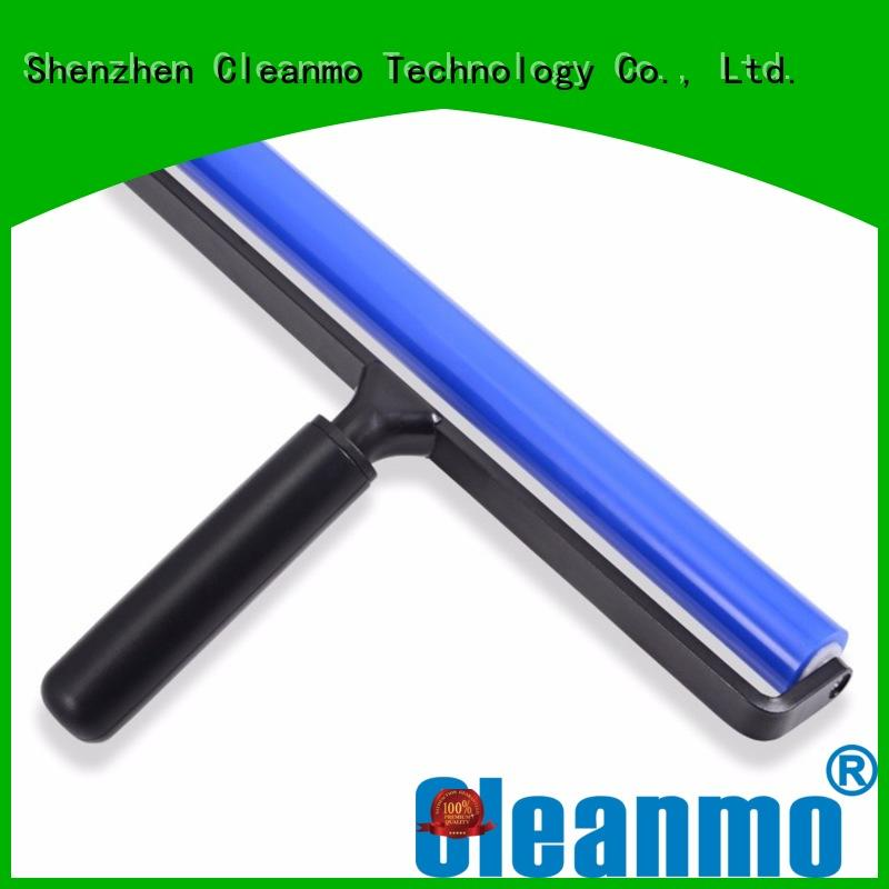 Cleanmo silicone with aluminum alloy silicone roller wholesale for LCD screen
