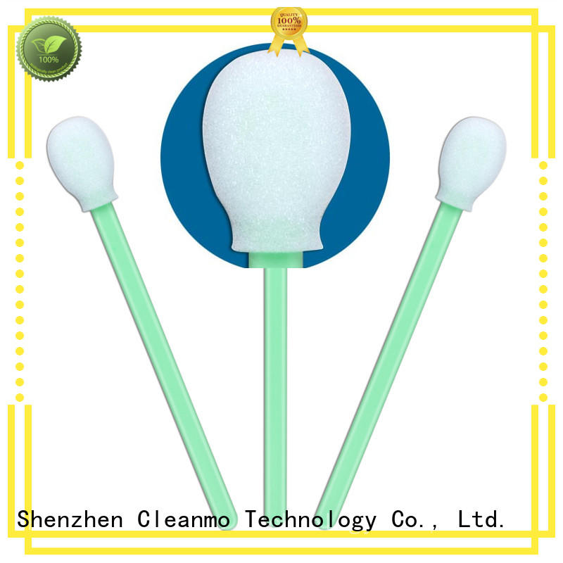 Cleanmo high quality sensor cleaning swabs supplier for excess materials cleaning