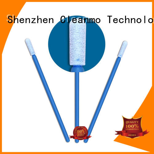 ESD-safe micro swabs Polyurethane Foam manufacturer for general purpose cleaning