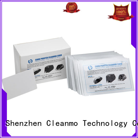 Cleanmo cost-effective waffle cleaning cards manufacturer for Smart Card Readers