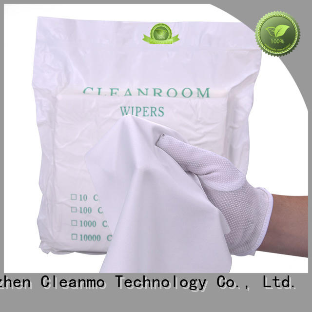 smooth lens cloth 30% nylon factory for chamber cleaning