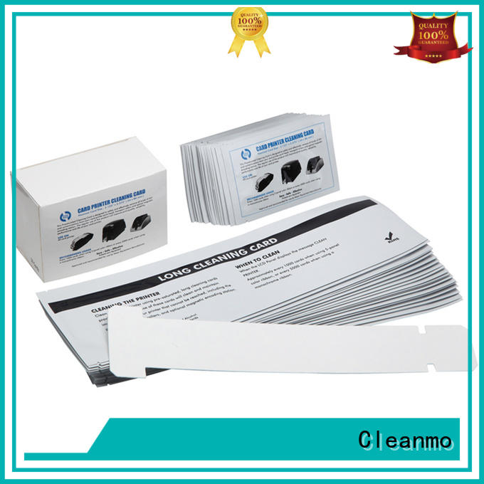 Cleanmo durable zebra cleaning card supplier for cleaning dirt