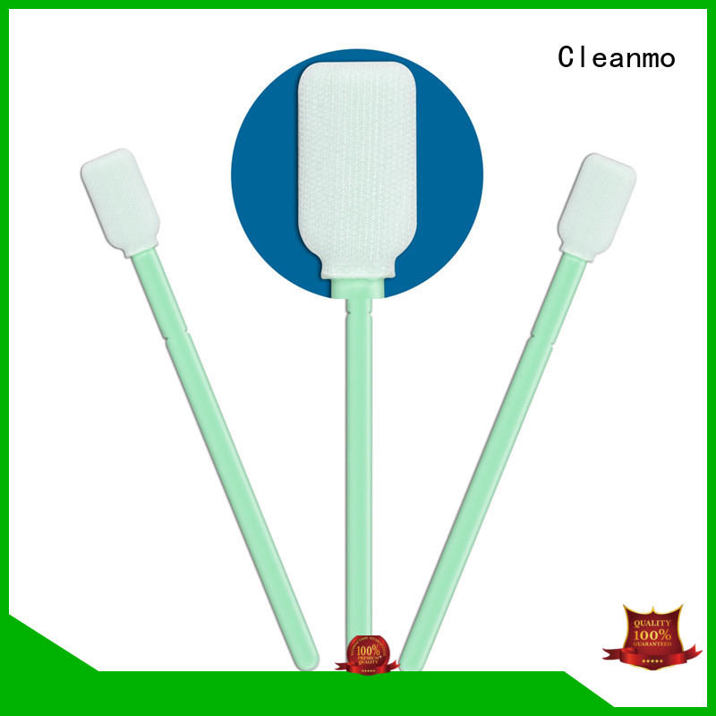 Cleanmo compatible swab factory for optical sensors